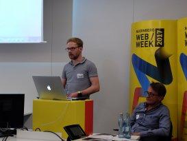 Manuel Guttenberger über technische Details der digitalen Lösung auf Basis von Drupal