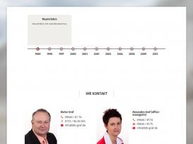 Drupal Website des Dieter Graf Bauleitungsbüros
