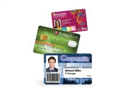Fertig bedruckte PVC Karten