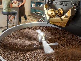 Einrichtung der Kaffeerösterei Basilius