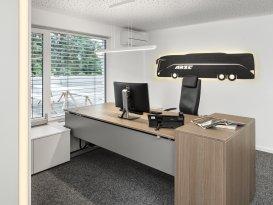 Beratung, Planung und Büroeinrichtung für Arzt Reisen