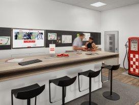 Büroeinrichtung für die Ernst Braun Mineralöle GmbH