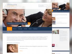 Drupal Website von Hörakustik Hierl