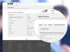 Responsive Webseite auf Basis von Drupal