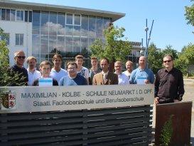 Schüler der Maximilian Kolbe Schule Neumarkt