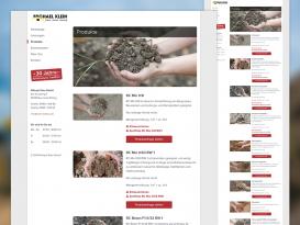 Drupal Website der Michael Klein GmbH