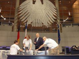 Ohning Innenausbau GmbH im Bundestag