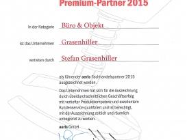 Urkunde Aeris Premium Partner