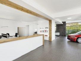 Inneneinrichtung Autohaus Höfner