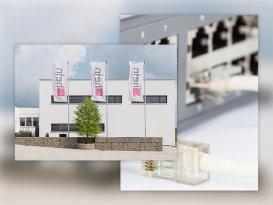 Gebäude Hein Verpackungen GmbH und Netzwerk Switch