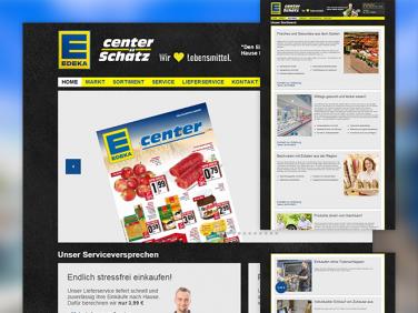 Drupal Website des E-Center Schätz
