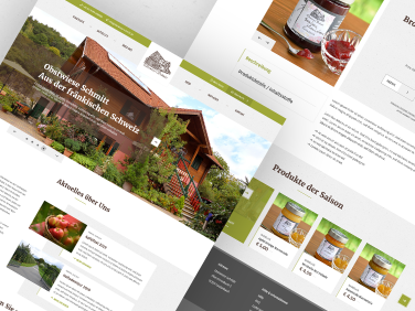 Website und Onlineshop