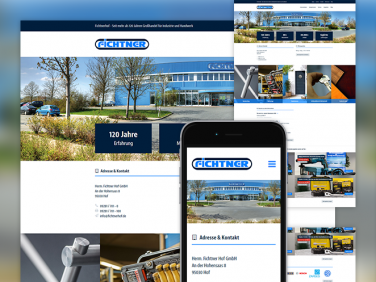 Fichtnerhof GmbH Website Relaunch