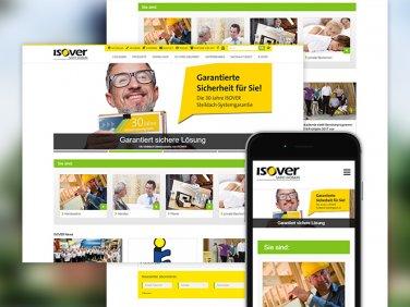 Erweiterung des Onlineportals für die SAINT-GOBAIN ISOVER G+H AG