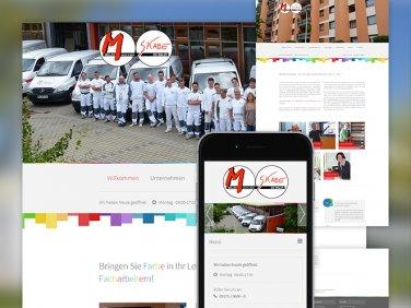 Responsive Website von Müller und Skade GmbH