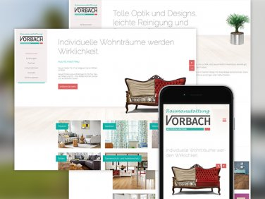 Neue Website von Raumaustattung Vorbach