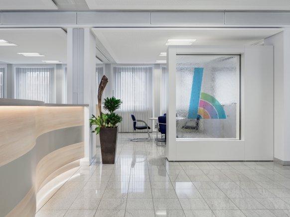 Büroeinrichtung für kommunales Unternehmen