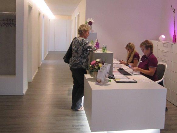 Inneneinrichtung der Dermatologische Praxis Dr. med. Kathrin Friedl