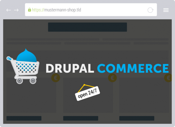 Drupal Commerce verbindet Content mit E-Commerce-Funktionen