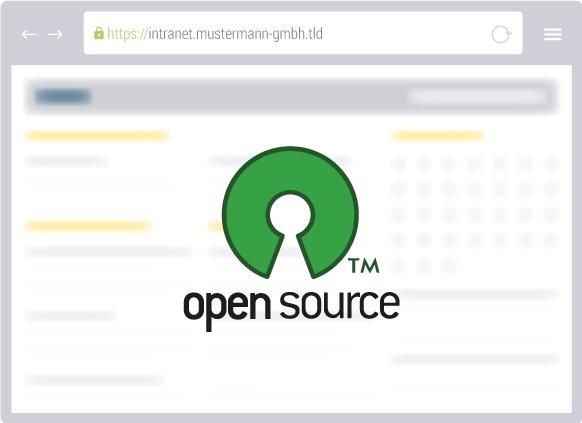Unsere CMS sind Open Source und wird von der Community entwickelt