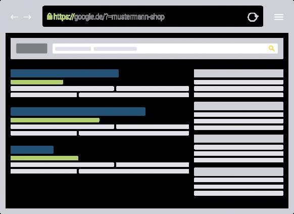 HTML-Ausgabe ist optimiert für Suchmaschinen
