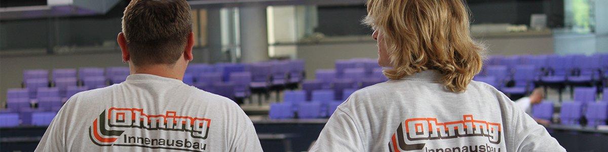 Mitarbeiter der Ohning Innesausbau GmbH