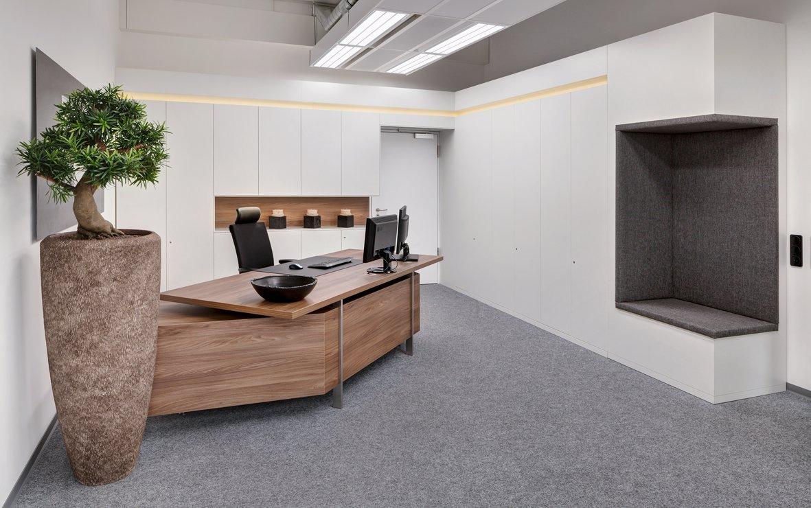 Büroeinrichtung Empfang