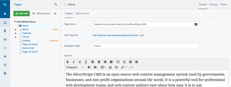 Mit Der Aufnahme Des Content Management System Silverstripe In Das Eigene  Produktportfolio Bietet Grasenhiller Seinen Kunden Neben Drupal Ab Sofort  Ein ...