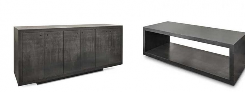 Möbel und Accessoires aus Stahl