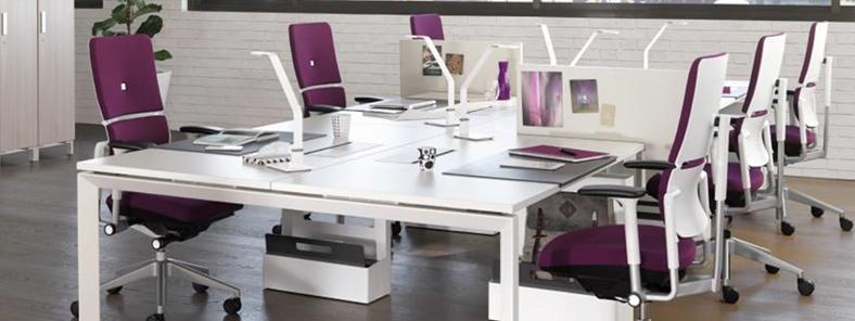 Moderne Büroeinrichtungen von Steelcase