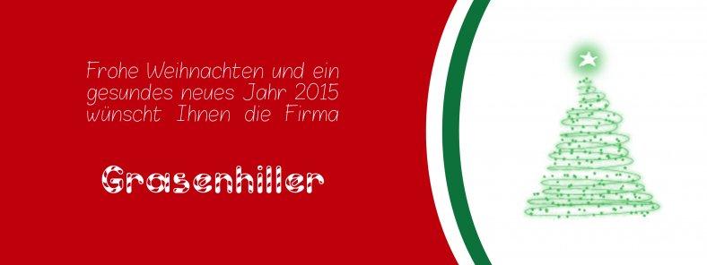 Weihnachtsglückwünsche 2014