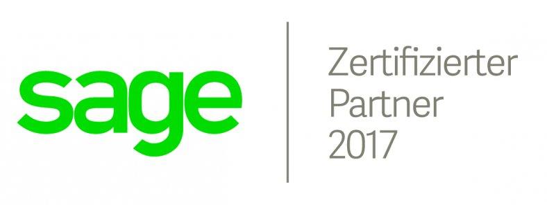 Zertifizierter Sage Partner 2017