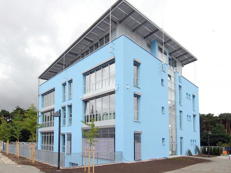 Gebäude von Bionorica SE