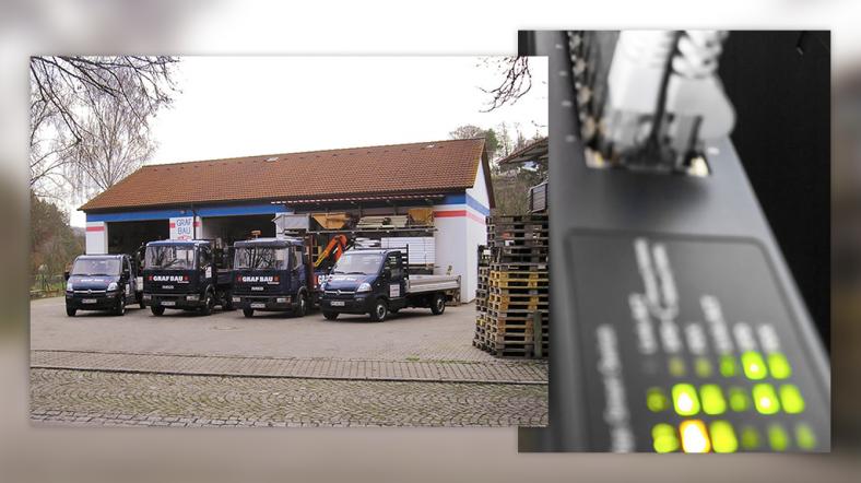 Gebäude der Anton Graf Bau GmbH und Netzwerk Hub