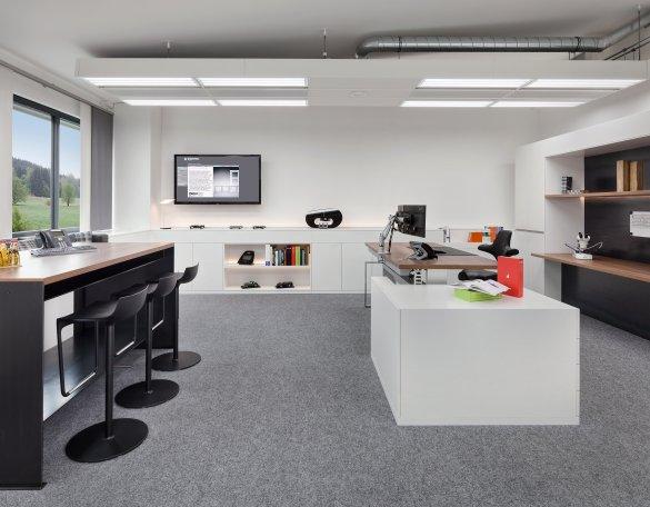 Büroeinrichtung Arbeitsplatz