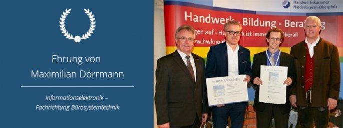 Auszeichnung Maximilian Dörrmann