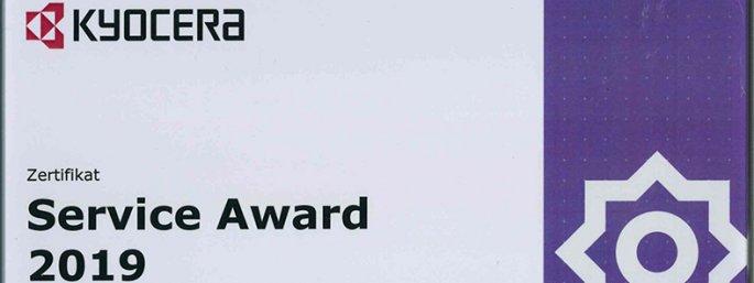 Kyocera Service Award