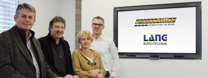 Mitarbeiter von Lang Bürotechnik und Grasenhiller GmbH