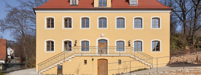 Ehemaliges Beamtenhaus am Schlossberg in Sulzbürg